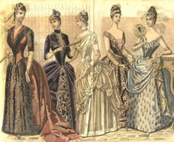 1888 Gowns
