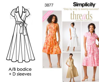 sketch of combined views for Simplicity 3877