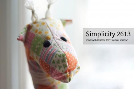 Heather Ross Simplicity 2613