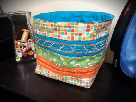 Fancy Viking Stitch Box
