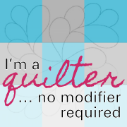 I'm a quilter… no modifier required