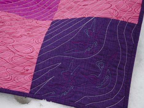 Thorny Patchwork corner detail