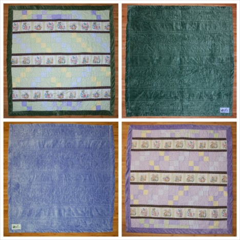 Twin Quilts Collage