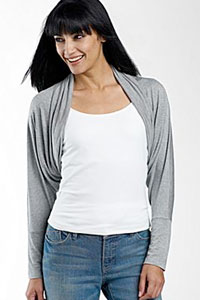 Draping Shrug from JC Penney