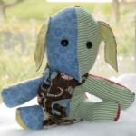 Baby Quilt Elephant