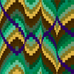 Bargello Quilt Layout