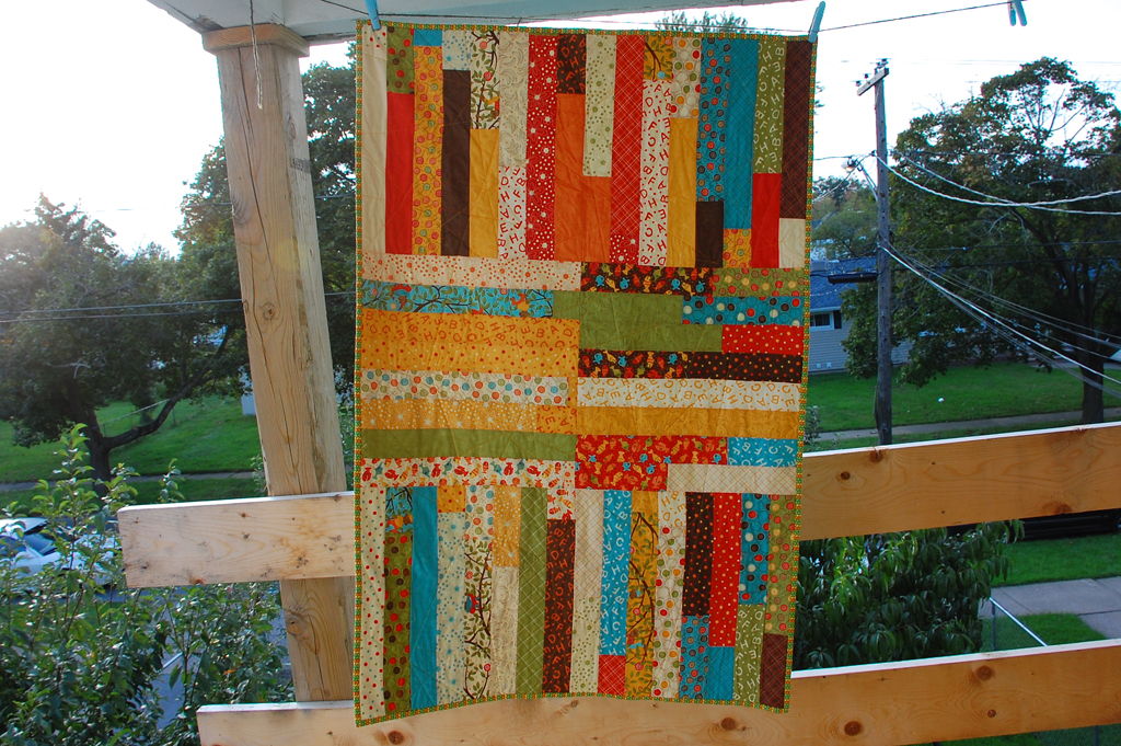 Lollipop Quilt Front