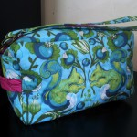Tula Pink Birds and the Bees Cosmetic Bag