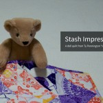 Stashed Impressions Doll Quilt