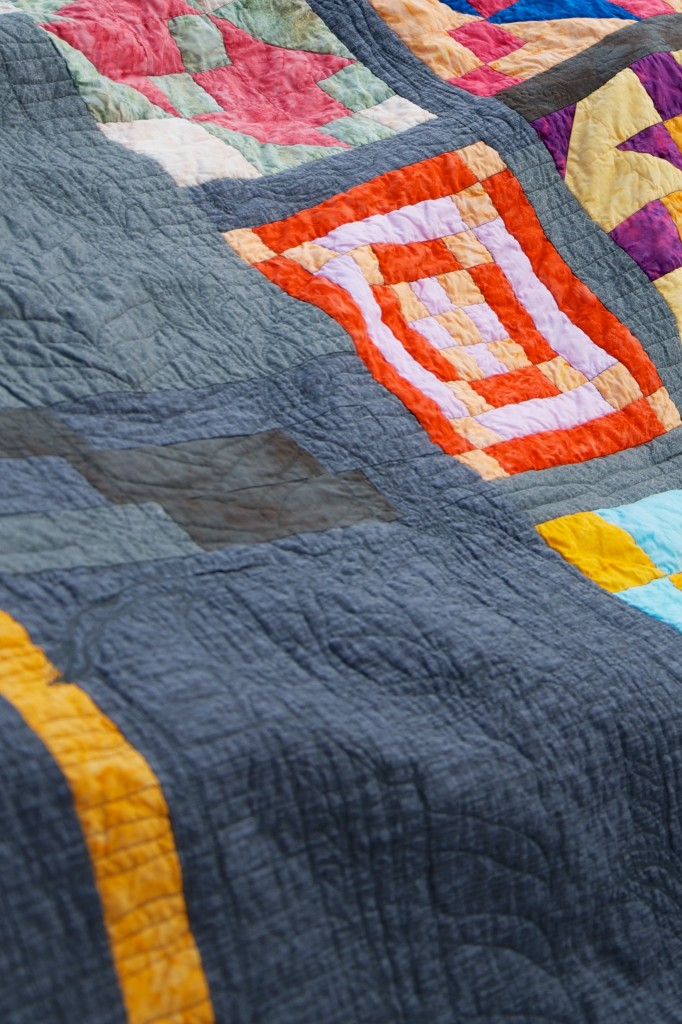 Road to Community (quilting detail)