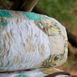 Bird's Nest Quilt (detail)
