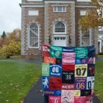 Hamilton College '04-'08: T-shirt Quilt