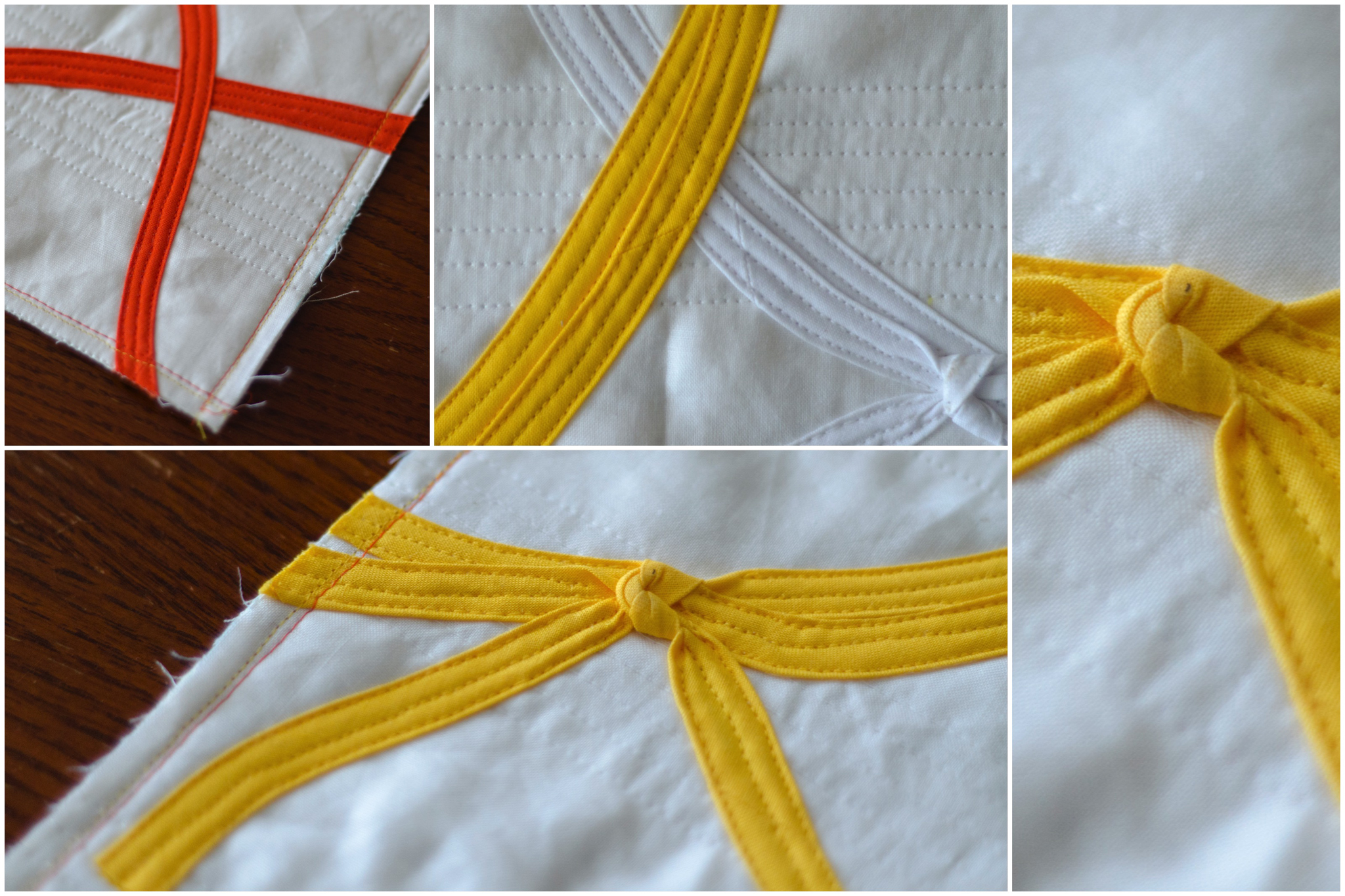 #mightylucky Bias Tape Challenge — Orange Belt details by @raevenfea