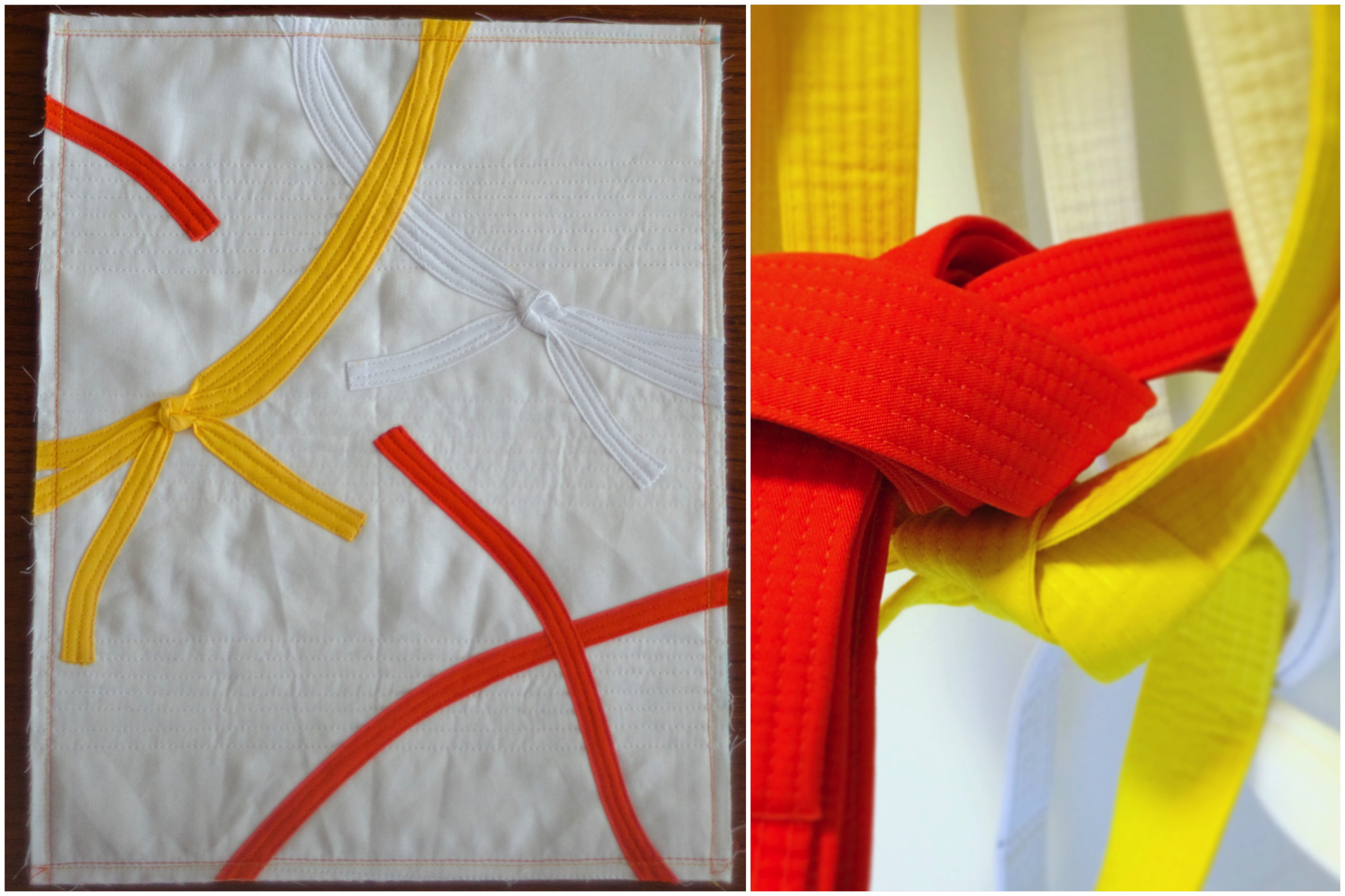 #mightylucky Bias Tape Challenge — Orange Belt by @raevenfea