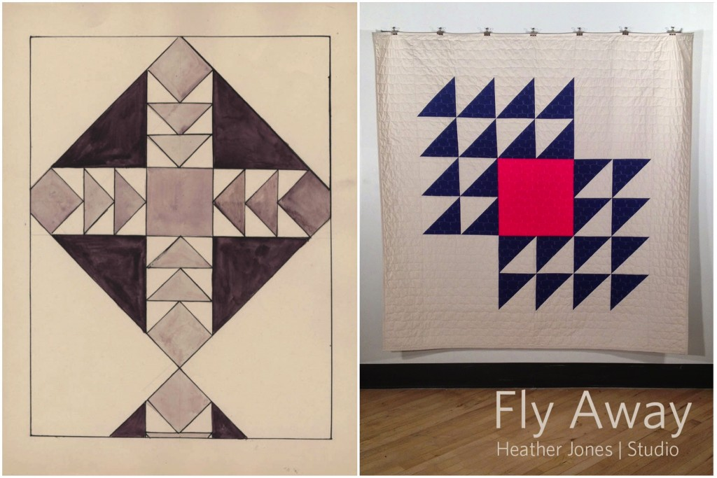 Quilt Pattern 256 / Fly Away by Heather Jones Studio
