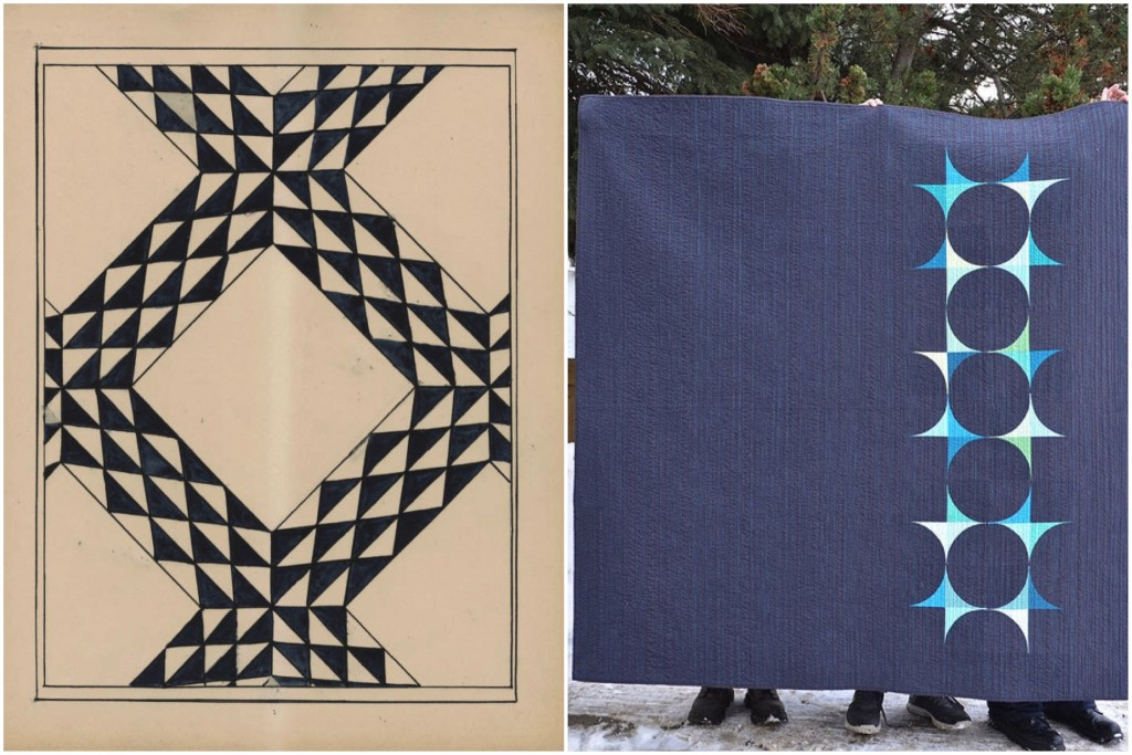 Quilt Pattern 111 / Echoes by Leanne Chahley