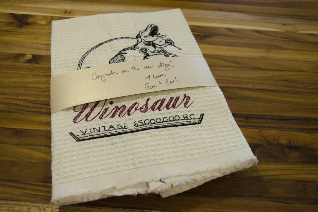 Winosaur towels