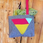 "Bag to match ""Triangle Rainbows"""