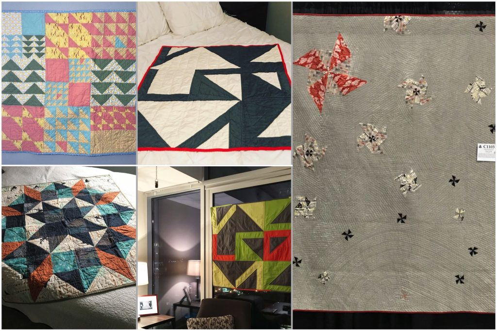 2018 Review — Five Finished Quilts